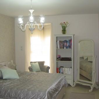 המלצה בעניין עיצוב חדר שינה בסגנון שאבי-שיק ממרים