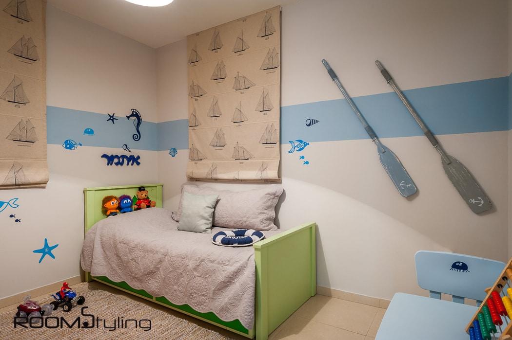 עיצוב חדר ילד