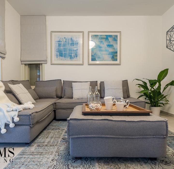 עיצוב הסלון של אדווה ושאול איתן