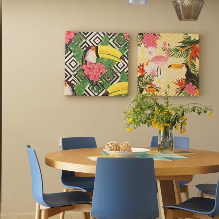עיצוב פינת אוכל בדירה במרכז הארץ