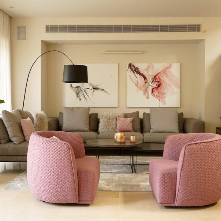 עיצוב הסלון של רקפת ואוריה