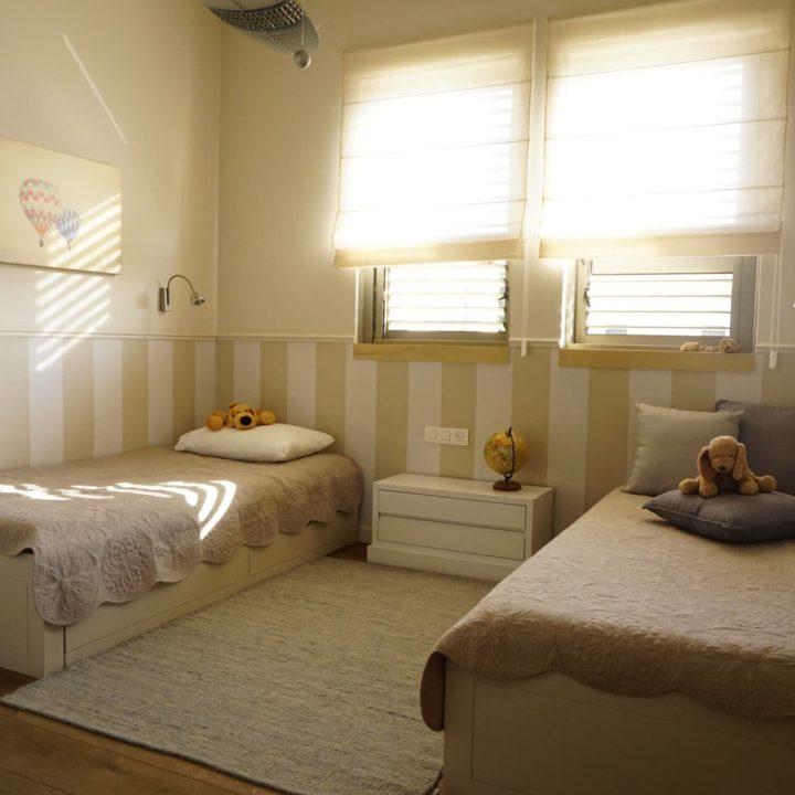 הום סטיילינג לחדר ילדים רקפת ואוריה