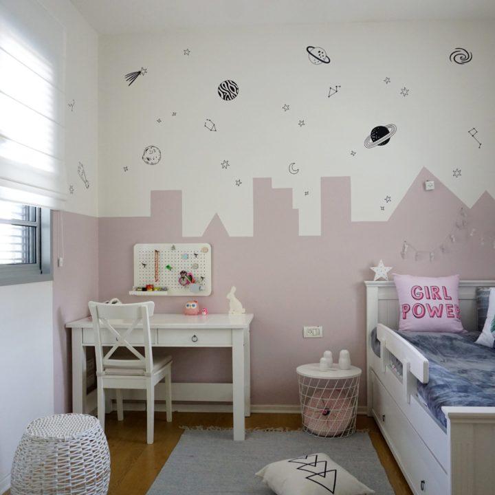 חדרים מעוצבים של ילדות