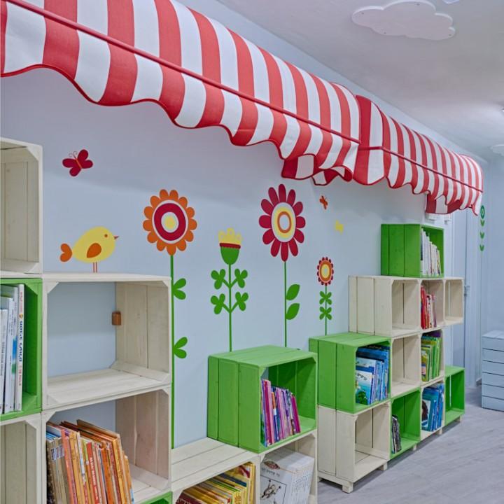 עיצוב ספרייה בבי