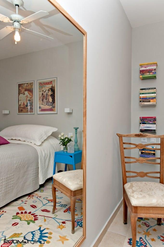 עיצוב חדר שינה קטן הורים שנשכח