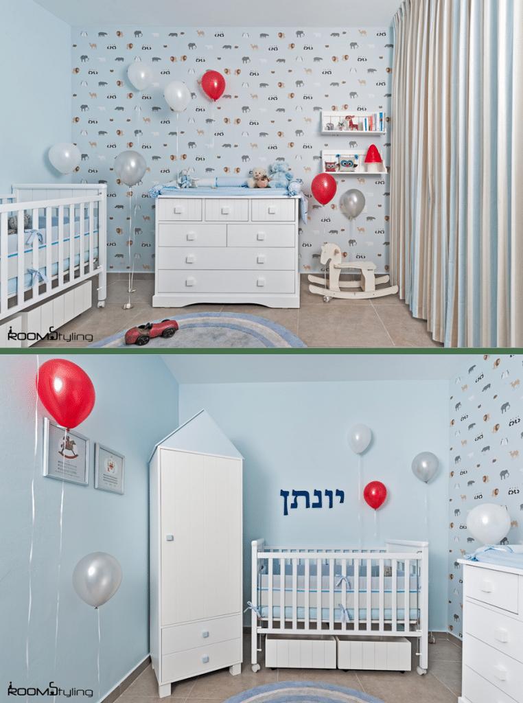 הום סטיילינג לחדר תינוק