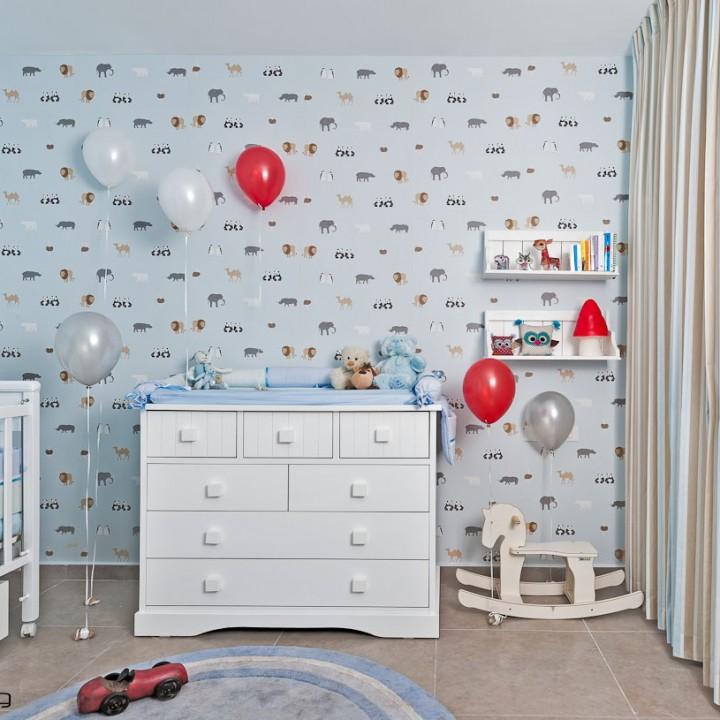 ישן כמו תינוק: עיצוב חדר תינוק שיקי ולא עמוס