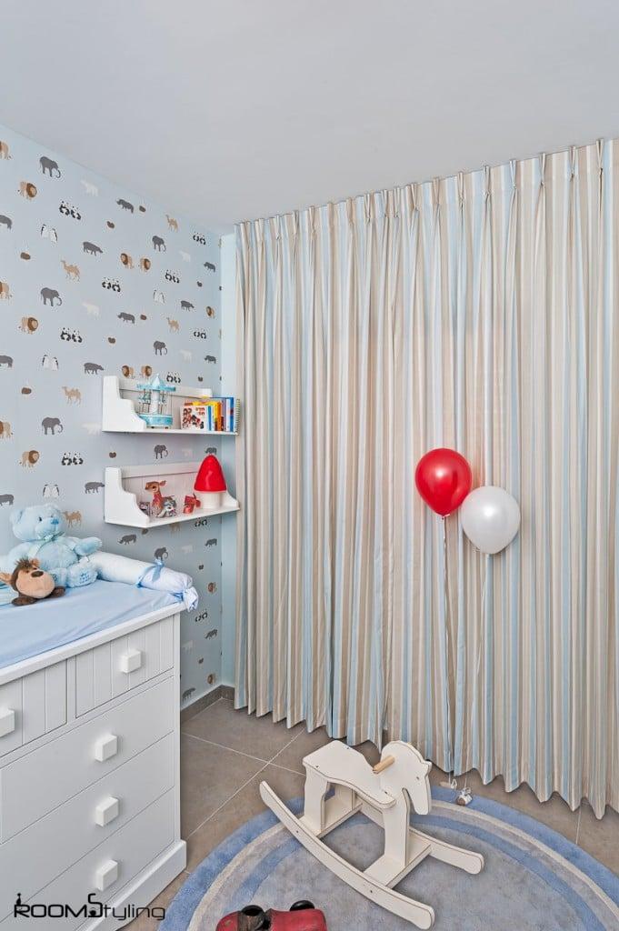 חדר תינוק מעוצב