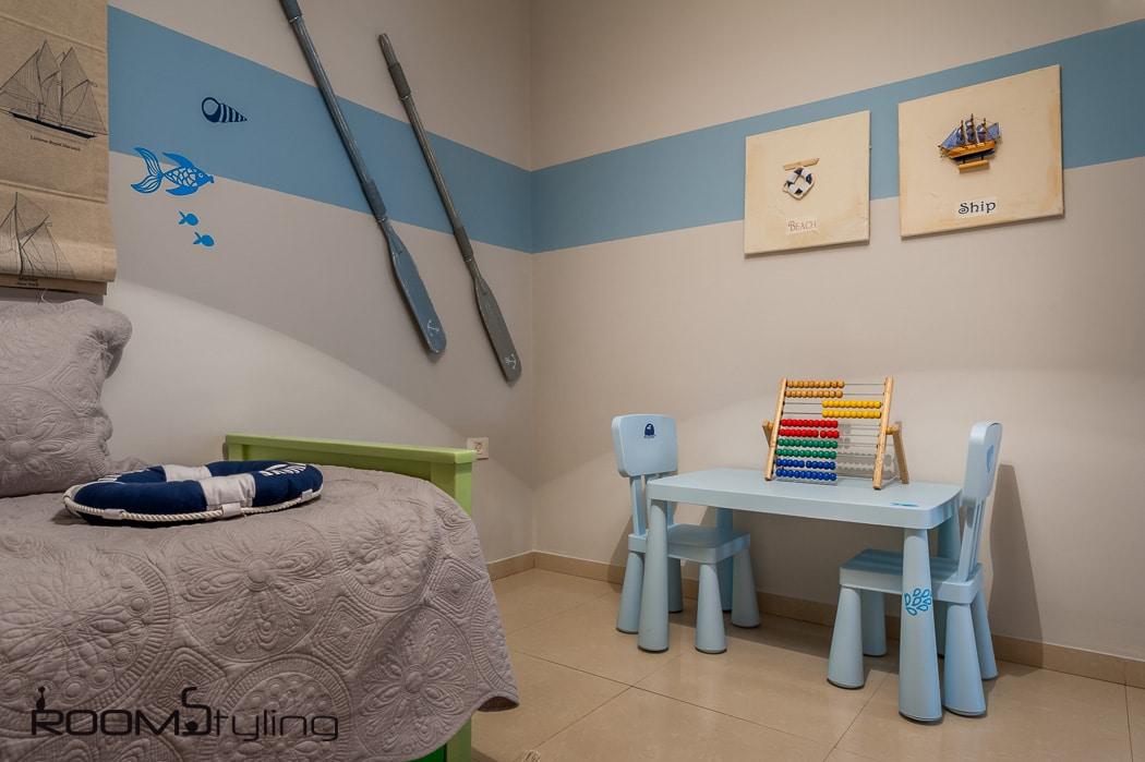 עיצוב חדר לבן