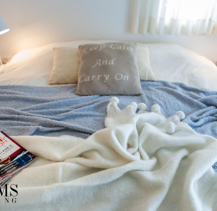 עיצוב חדר השינה של אדווה ושאול איתן