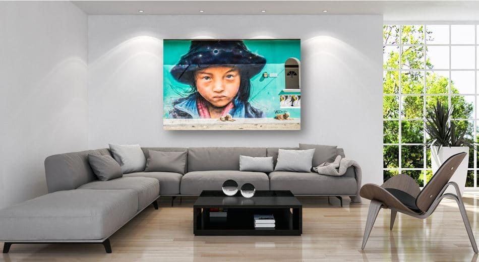 גרפיטי מדליק בסלון ביתכם