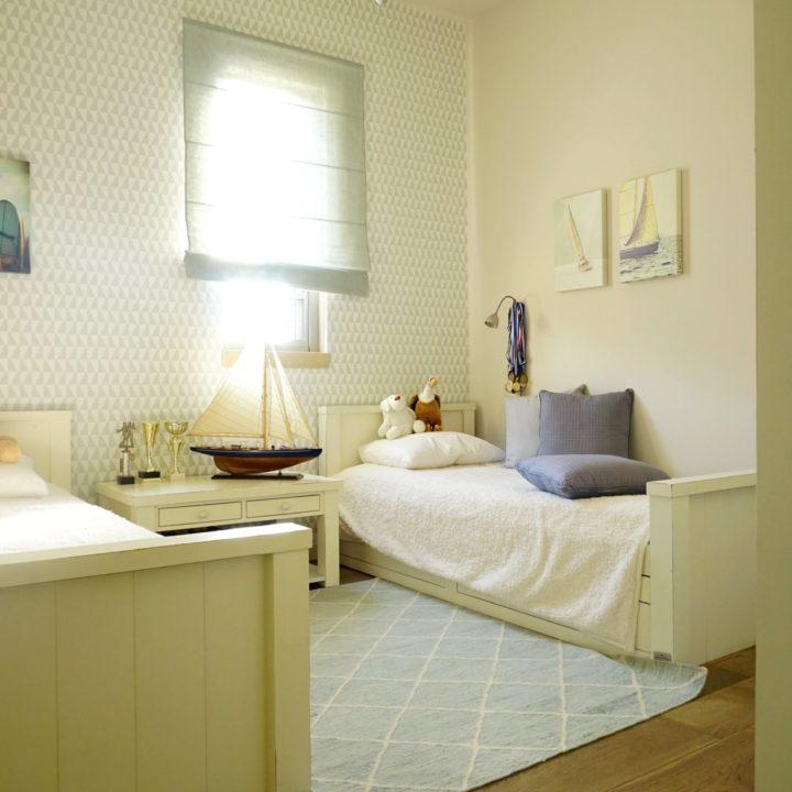 עיצוב חדר ילדים רקפת ואוריה