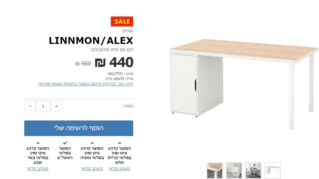 עיצוב חדר עבודה בדירה קטנה