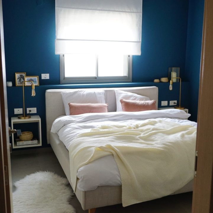 חדר השינה של יפעת ודורון אדרי