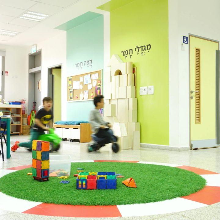 עיצוב בית ספר וחטיבה צעירה